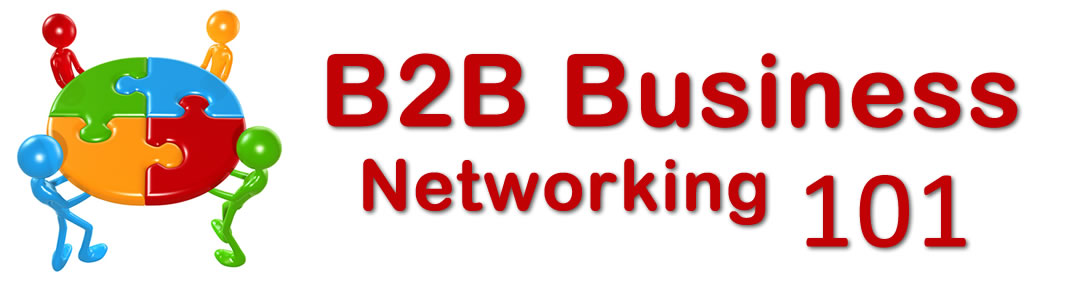 Are you part of a Business to Business Network?