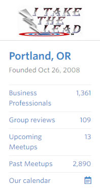 Portland-Or-itakethelead-meetup